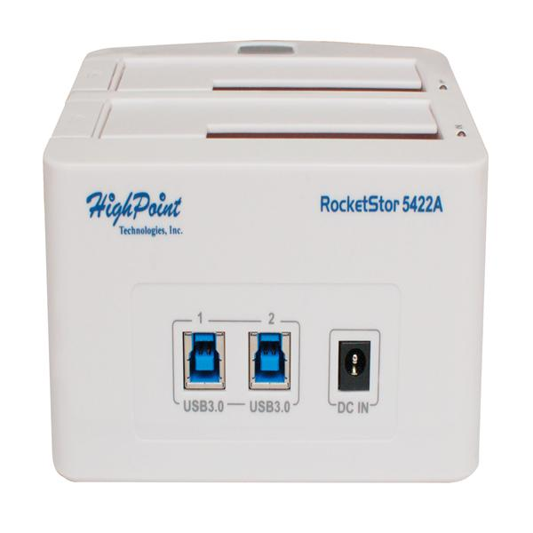 High Point RocketStor 5422A USB3.0 雙槽外接硬碟盒
