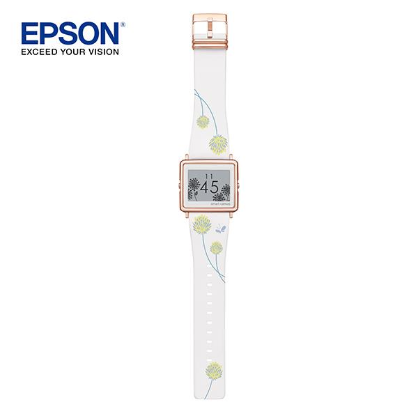 EPSON  FLOWER DANDELION with ROSE GOLD buckle (白蒲公英玫瑰金限量款)