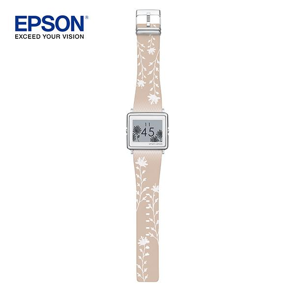 EPSON FLOWER BEIGE with SILVER buckle.(暖色向陽款)