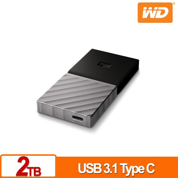WD My Passport SSD 2TB 外接SSD